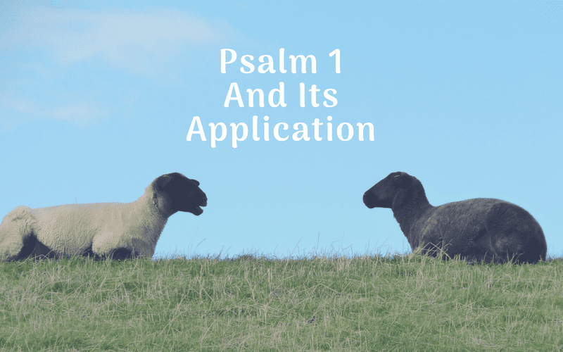 Psalm 1 and Its Practical Application