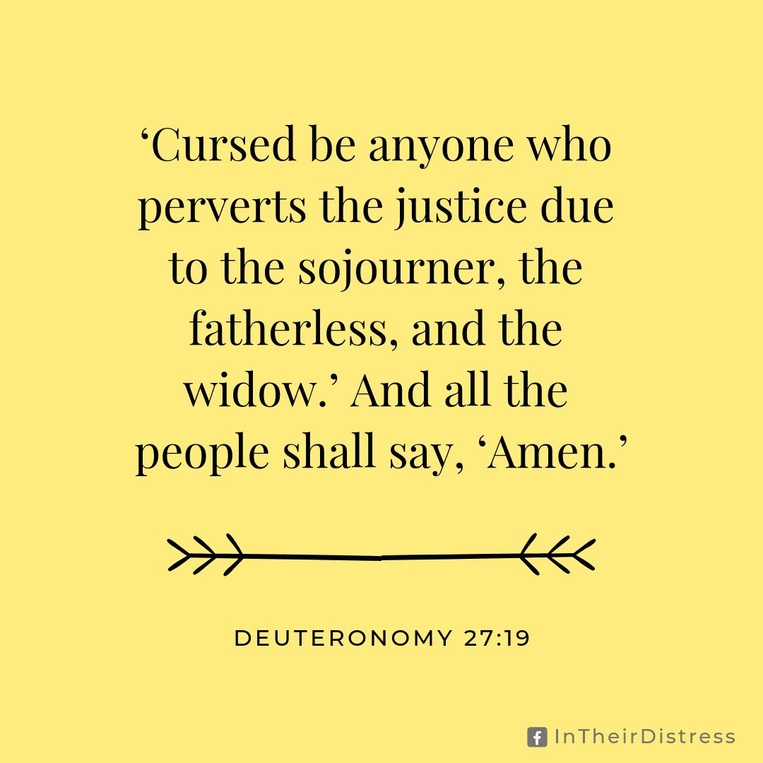 Deuteronomy 27:19