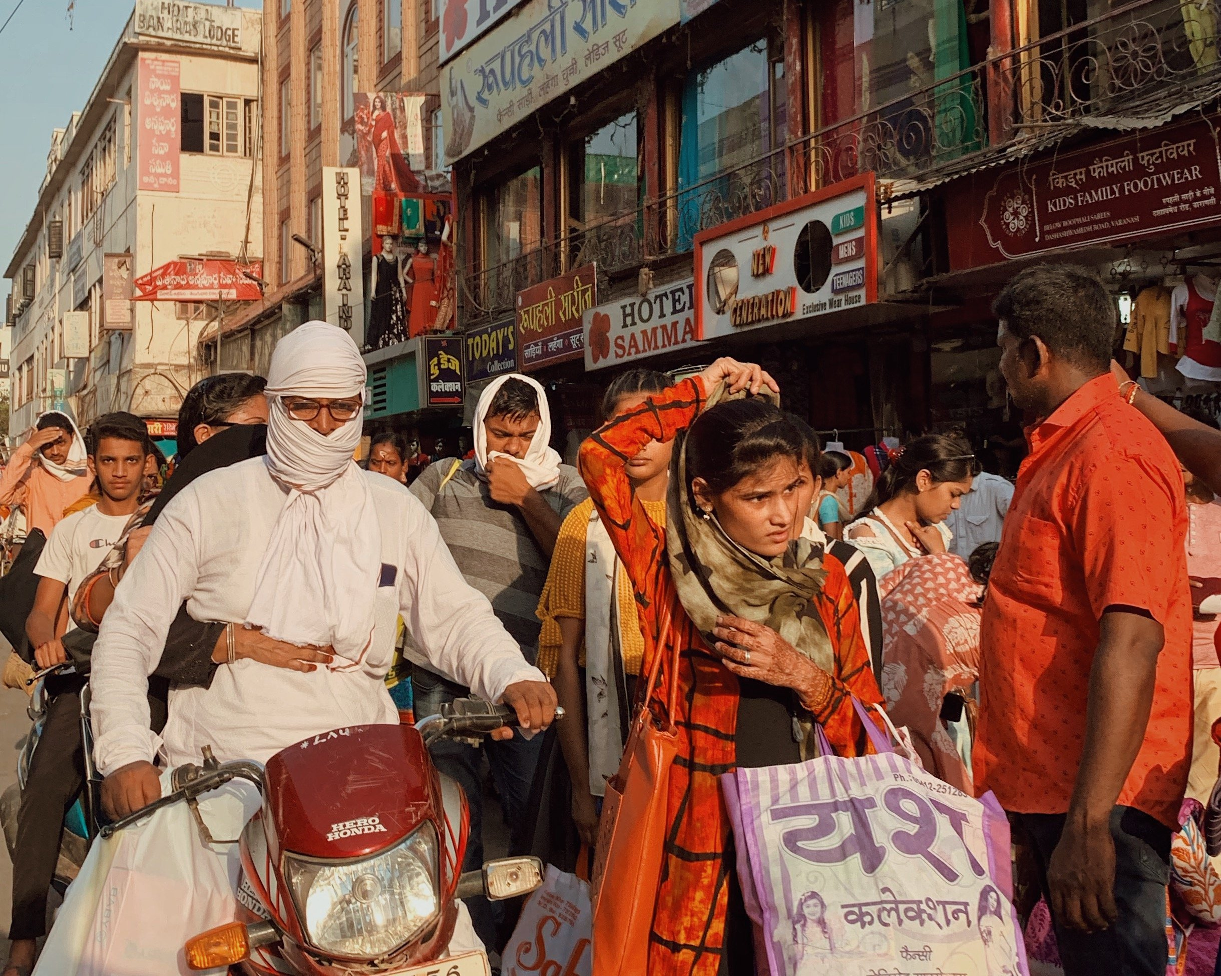 Photo of India market by Connor Haines