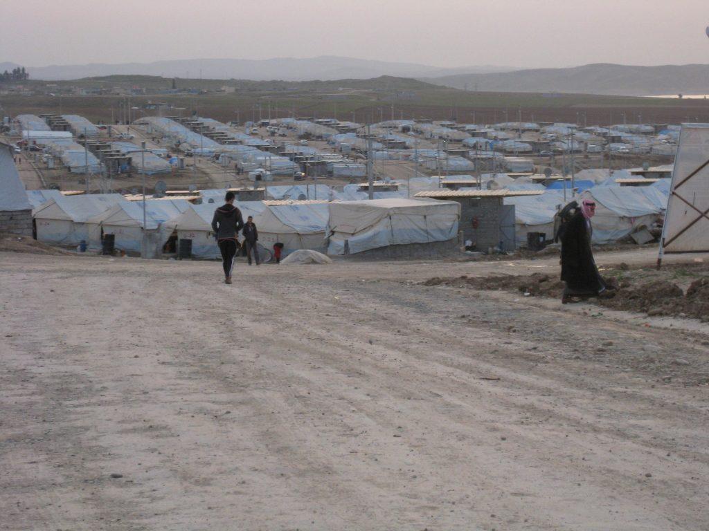 Yazidi Refugee Camp