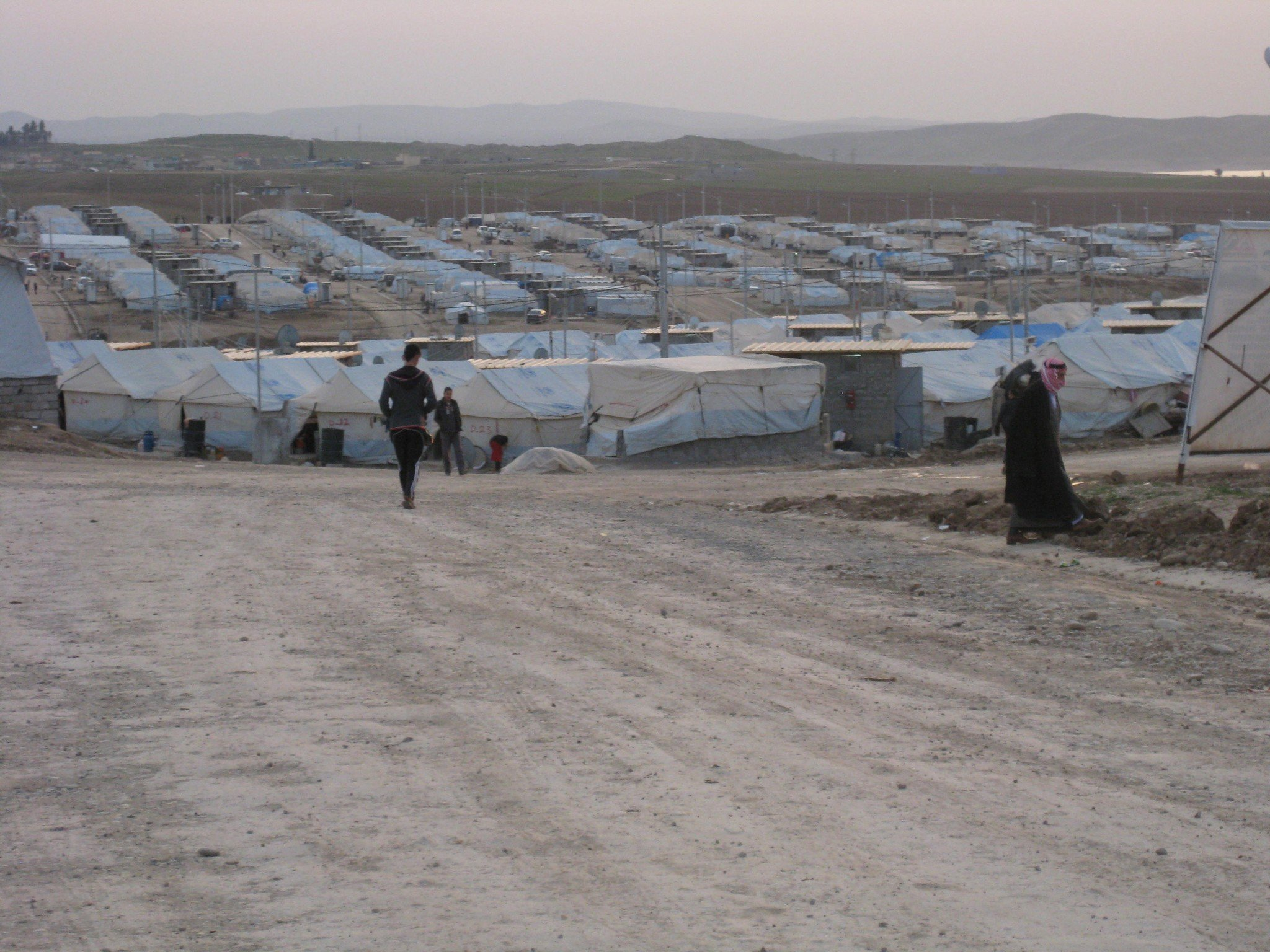 Yazidi Refugee Camp